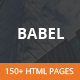 Babel - Responsive HTML5 Template Nulled