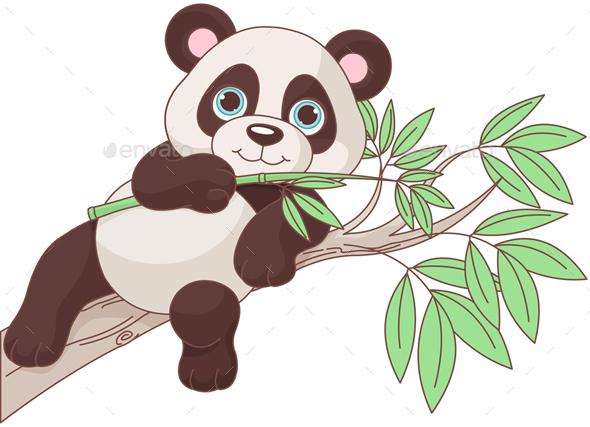 GraphicRiver Baby Panda 20321812