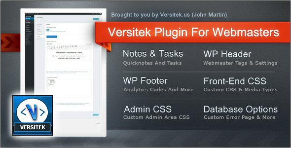 Versitek Plugin For Webmasters - CodeCanyon Item for Sale
