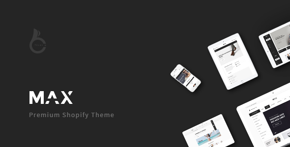 Max - Multi-purpose Shopify Theme - Shopify eCommerce