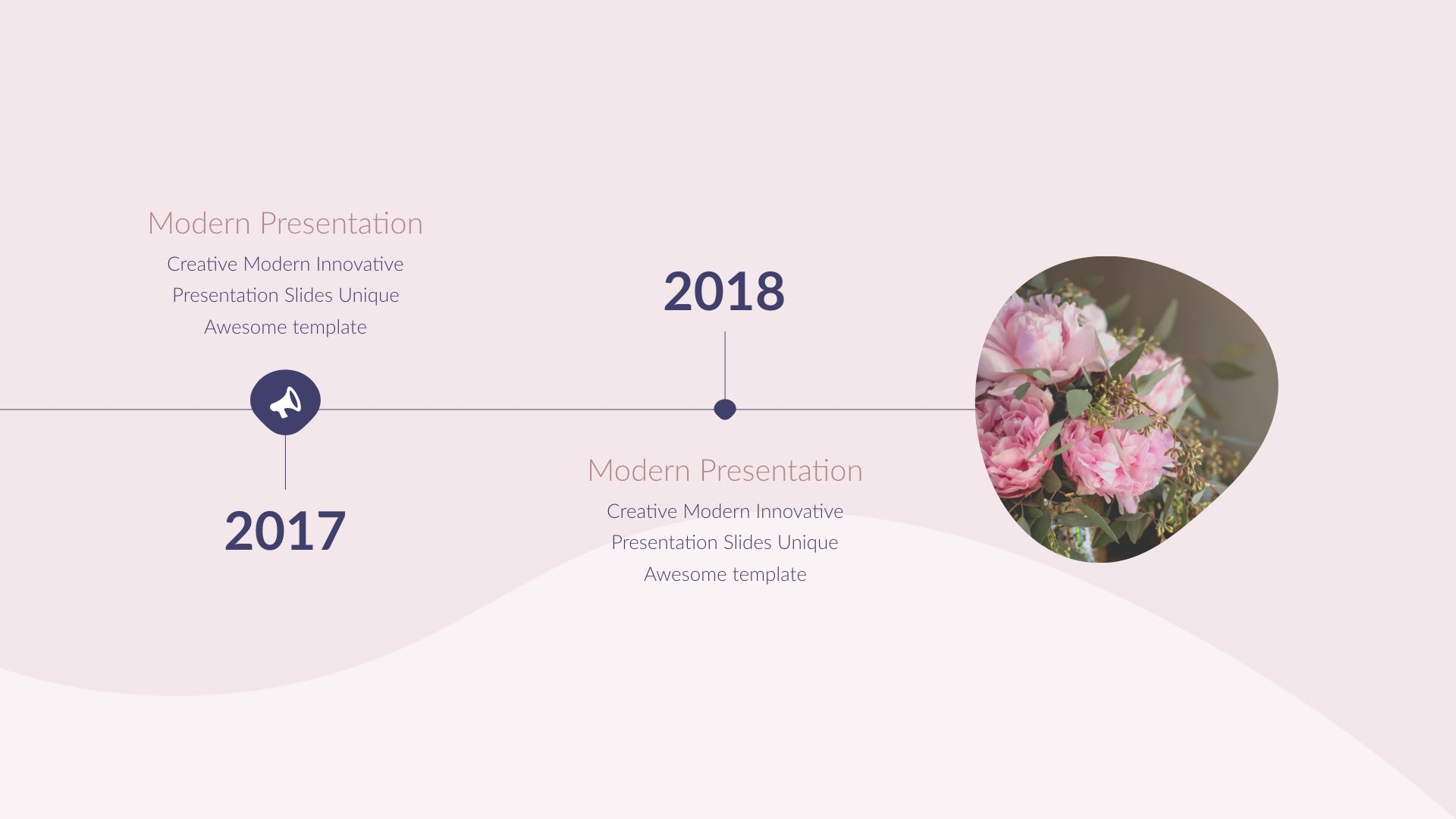 Pink - Minimal & Creative Keynote Template by 5yue | GraphicRiver