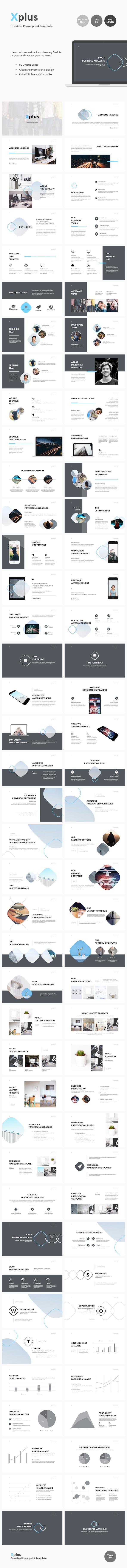Xplus - Creative Powerpoint Template - Business PowerPoint Templates