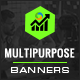 Multipurpose HTML5 Banners HTML5 Banners - 7 Sizes - BEE-CC-133