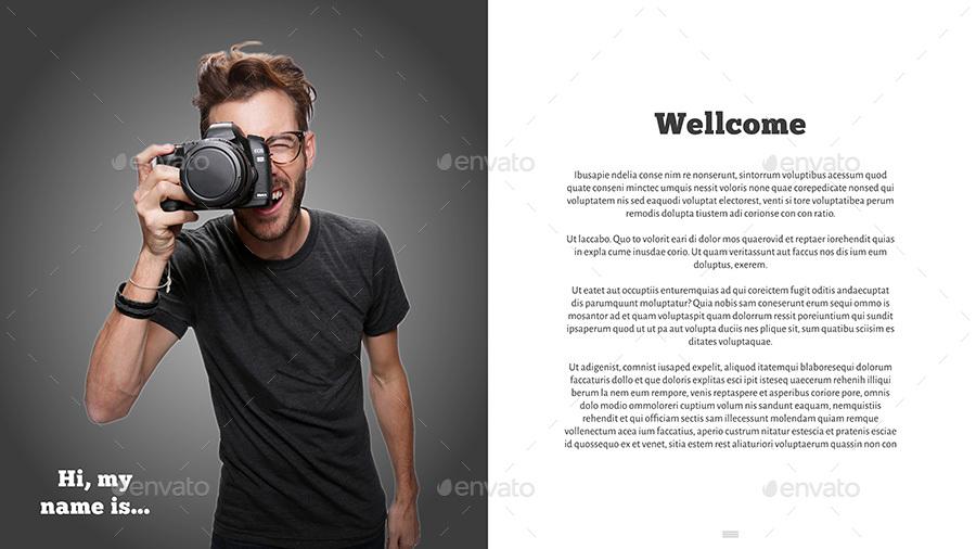 Interactive PDF Photographer Portfolio No7 by Milos83   GraphicRiver