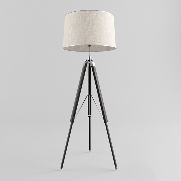 Vray Ready Stand Floor Lamp - 3DOcean Item for Sale