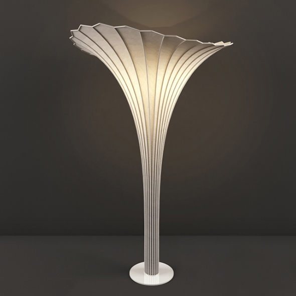 Vray Ready Modern Decorative Table Lamp - 3DOcean Item for Sale