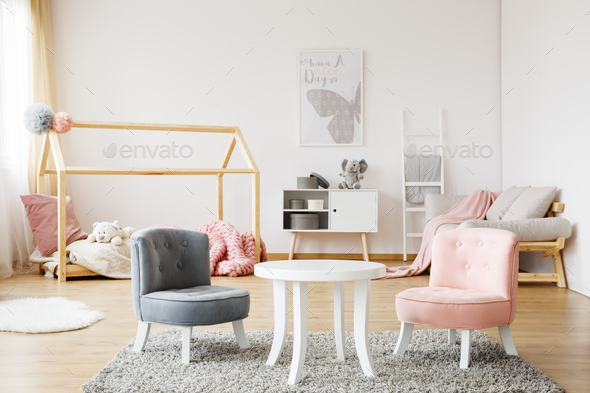 Pleasing Grey And Pink Chairs Pabps2019 Chair Design Images Pabps2019Com