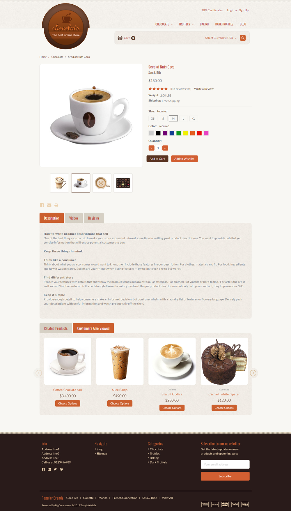 Cake Bigcommerce Theme
