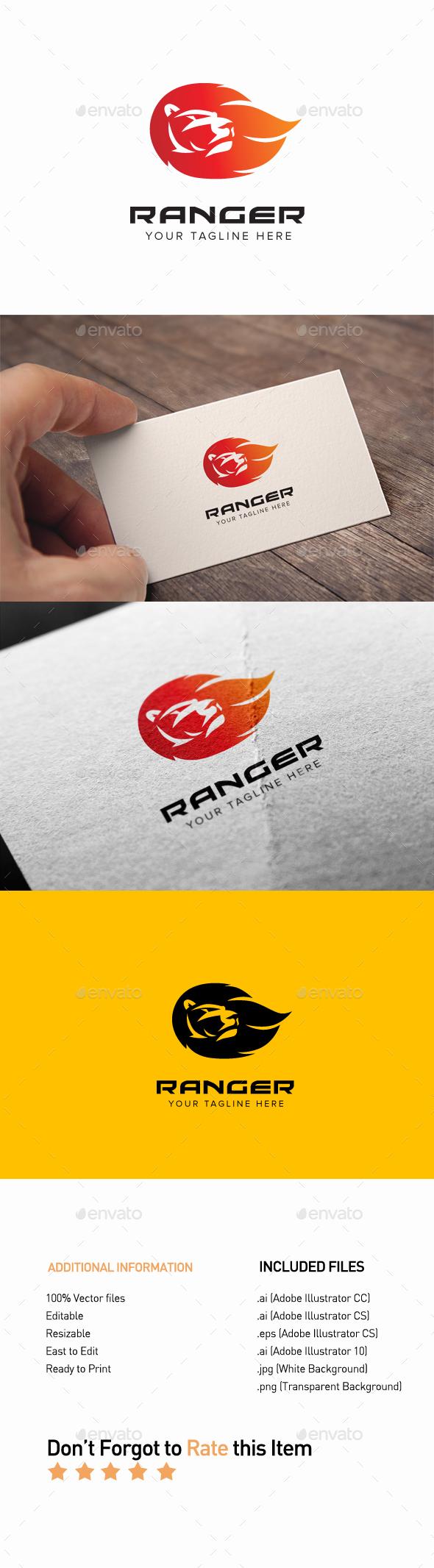 GraphicRiver Ranger Logo 20322671