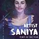 Artist Promotion Flyer - GraphicRiver Item for Sale