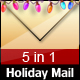 Holiday Mail - 5 COLORs Nulled