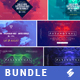 Electronic Music Event Facebook Post Banner Templates Bundle 5 - GraphicRiver Item for Sale