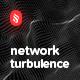 Network Turbulence Backgrounds