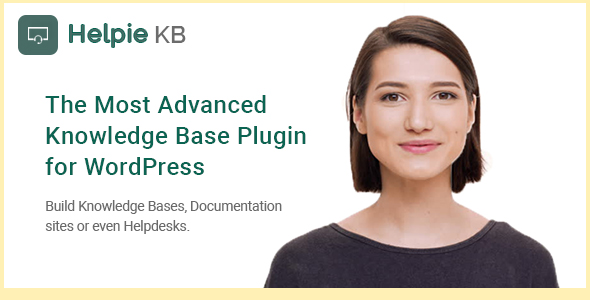 Helpie - WordPress Knowledge Base | Wiki | Helpdesk Plugin - CodeCanyon Item for Sale