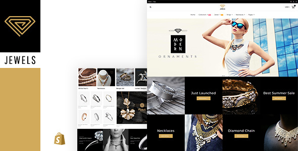 Image of Jewellery - Responsive Shopify Theme