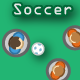 Button Soccer - HTML5 Game - Construct 2 CAPX