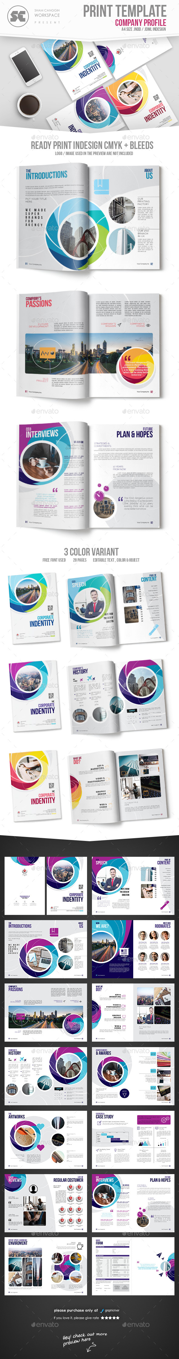 Creative Company Profile - Corporate Brochures