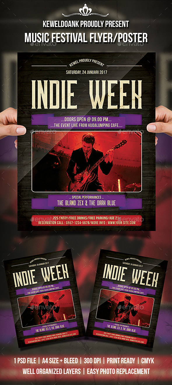 Indie Week Flyer / Poster - Events Flyers