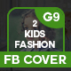 Kids Fashion Facebook Cover - GraphicRiver Item for Sale