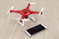 Drone and smartphone - PhotoDune Item for Sale