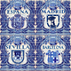 Spain Ceramic Tiles Vector Blue Azulejo - GraphicRiver Item for Sale