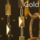 Golden Chains Glitter 7 - VideoHive Item for Sale