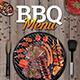 BBQ House Menu Flyer