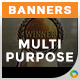 Multipurpose HTML5 Banners - 7 Sizes - Elite-CC-113