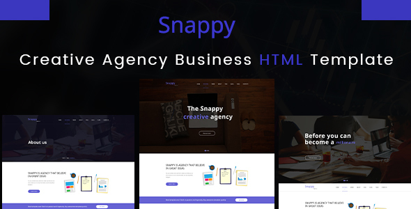 Image of Snappy - Creative Agency HTML Template