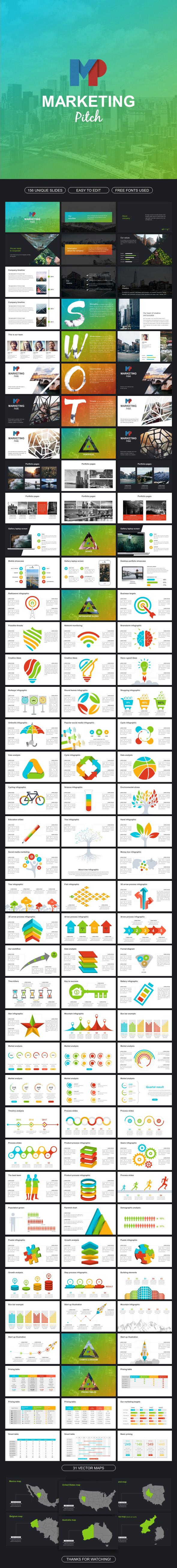 Marketing Pitch - Google Slides Presentation Templates