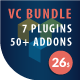 Visual composer addons bundle - gallery, media, posts and utility for VC - CodeCanyon Item for Sale
