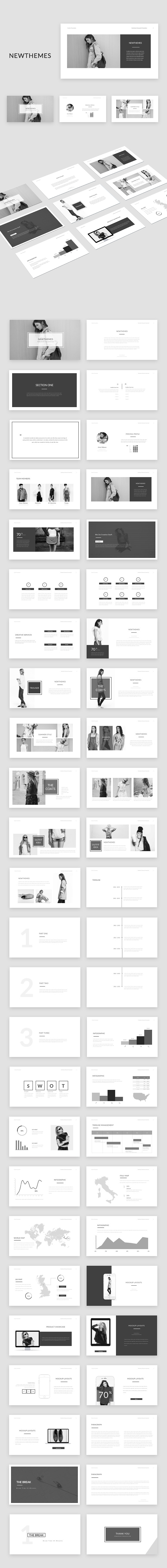 Newt Powerpoint - Creative PowerPoint Templates