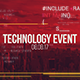 Technology Data Event Opener