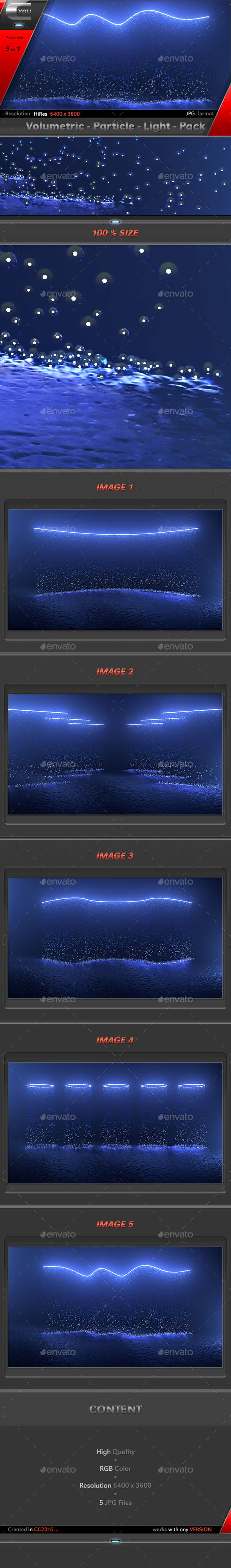 GraphicRiver Volumetric Particle Light Pack 20325972