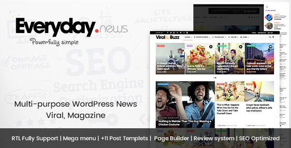 Everyday - Modish News, Magazine and Blog Theme