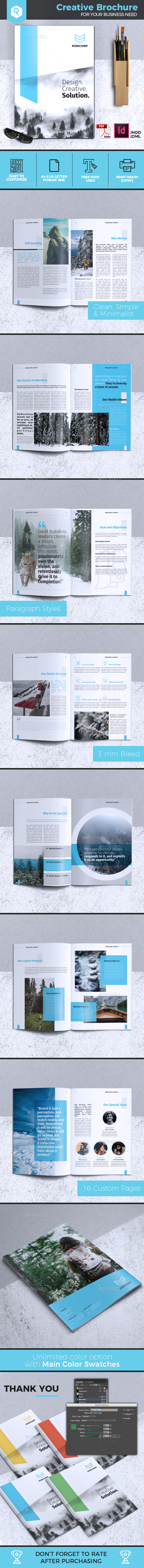 Creative Brochure Template Vol. 28 - Corporate Brochures