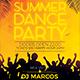 Summer Dance Party Flyer