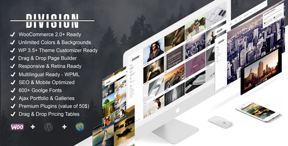 Division Fullscreen Portfolio Photography Theme