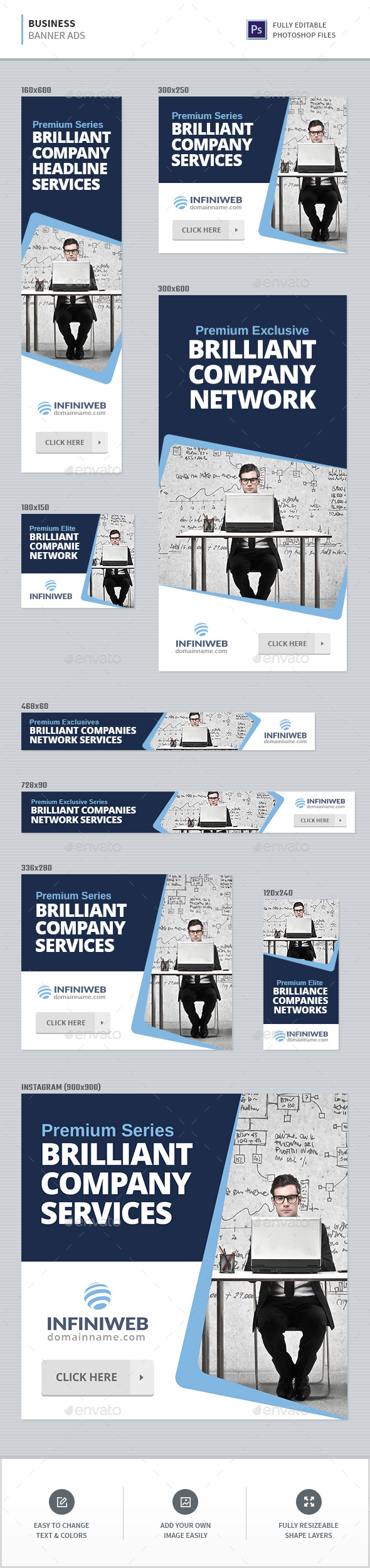 GraphicRiver Business Banners 20326656