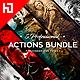Five Photoshop Actions Bundle - GraphicRiver Item for Sale