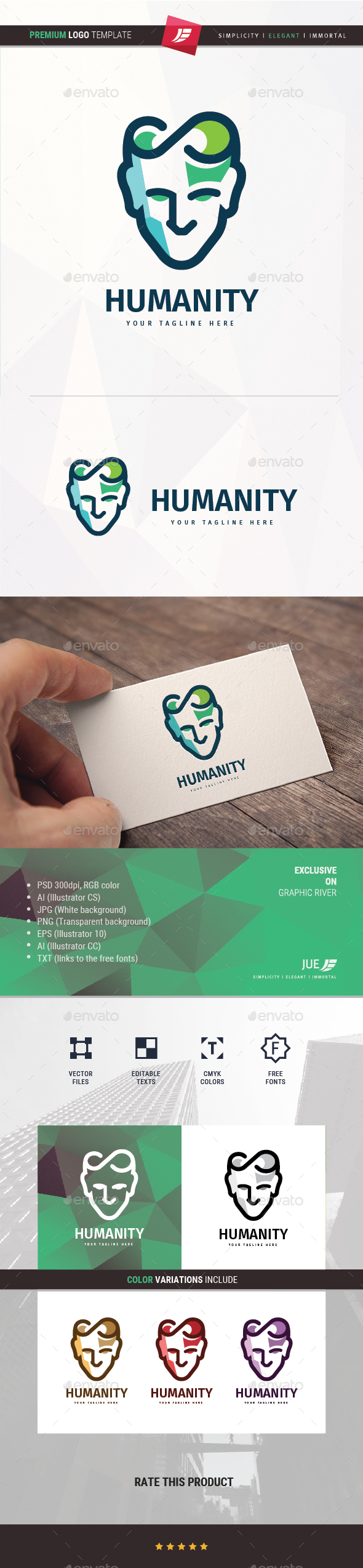 Humanity Logo - Humans Logo Templates