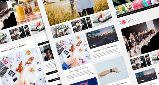 WP Blogs & Magazines Theme