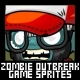Zombie Outbreak - Game Sprites - GraphicRiver Item for Sale