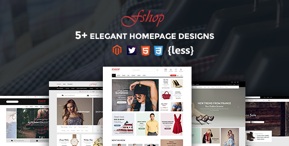 Image of Fshop - Responsive Magento 2 Fashion Store Theme