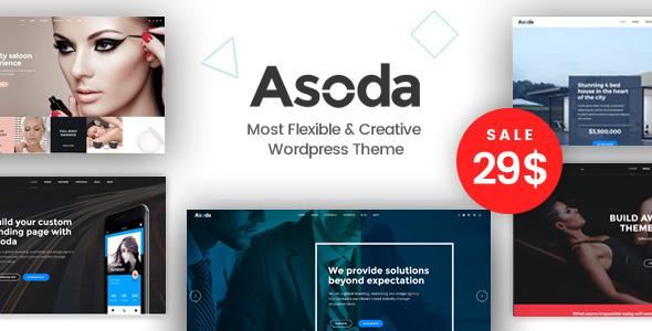 Asoda - A Multipurpose WordPress Theme - Business Corporate