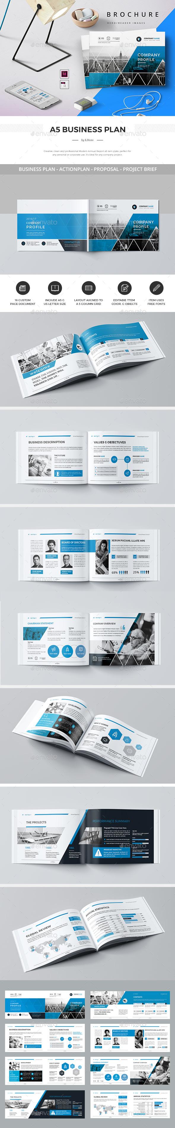 GraphicRiver A5 Landscape Company Profile 20327061