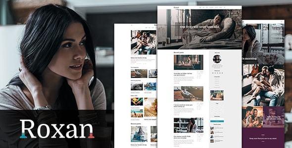 Roxan | Blog & Magazine WordPress Theme