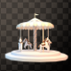 Isolated Carousel