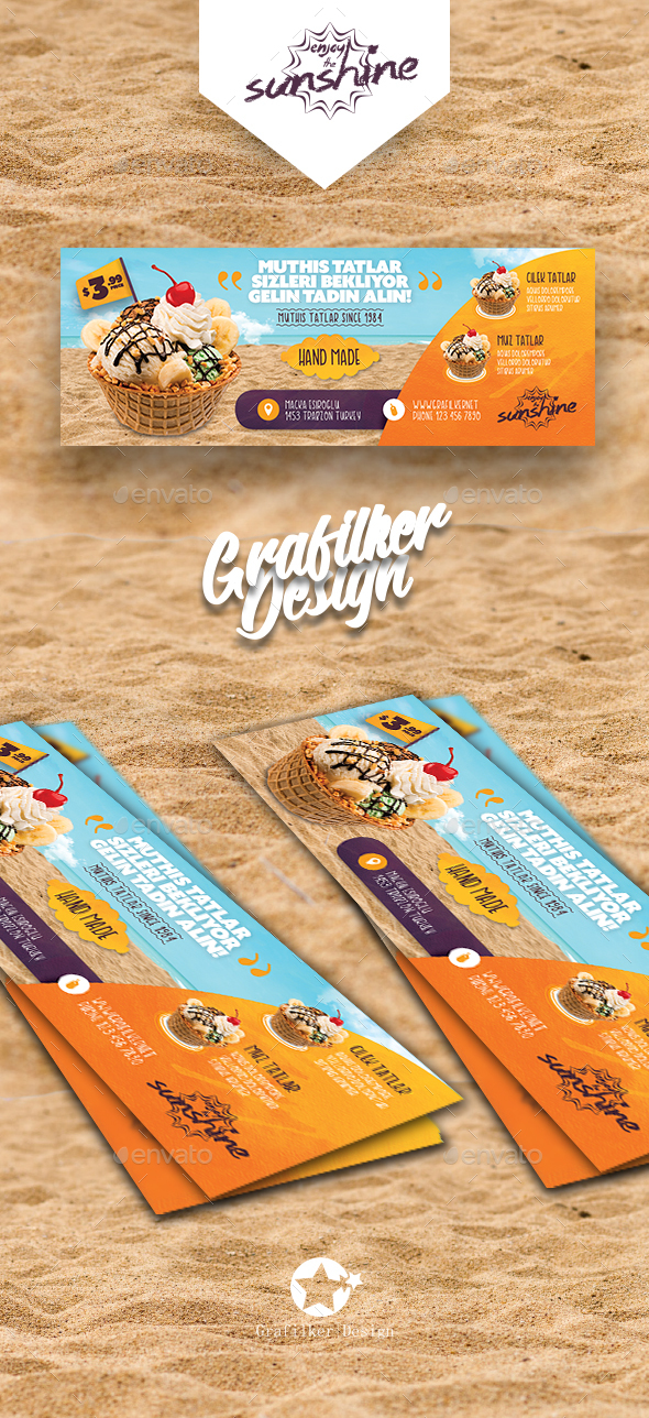 Ice Cream Cover Templates - Facebook Timeline Covers Social Media