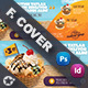 Ice Cream Cover Templates - GraphicRiver Item for Sale